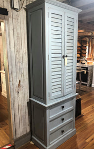 Tall Shuttered Cabinet
