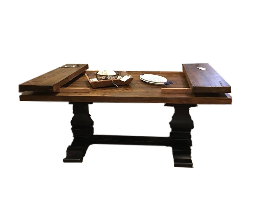 Custom Dewey Table with Two 12