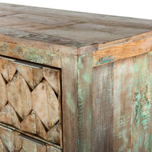 Load image into Gallery viewer, Rustic Honeycomb 6 Drawer Dresser