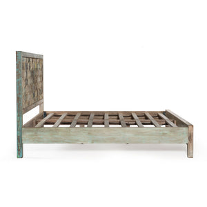 Rustic Honeycomb Bed