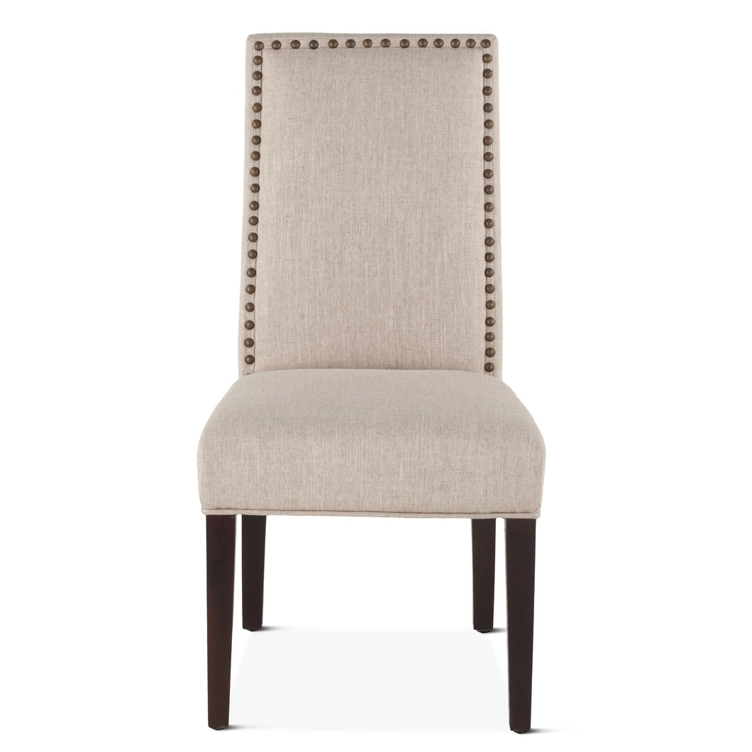 Nailhead Dining Chair Upholstered