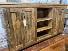 Load image into Gallery viewer, 4 Door Cabinet Reclaimed Maple