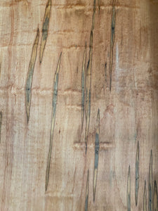 Ambrosia Beetle Maple Live Edge Slab