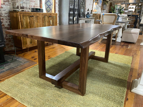 Walnut Live Edge SoHo Collection Dining Table
