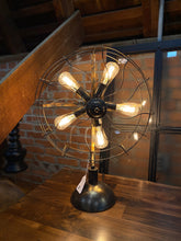 Load image into Gallery viewer, Vintage Fan Style Lamp