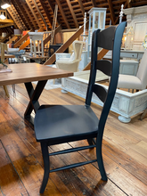 Load image into Gallery viewer, Black Ladderback Dining Chair