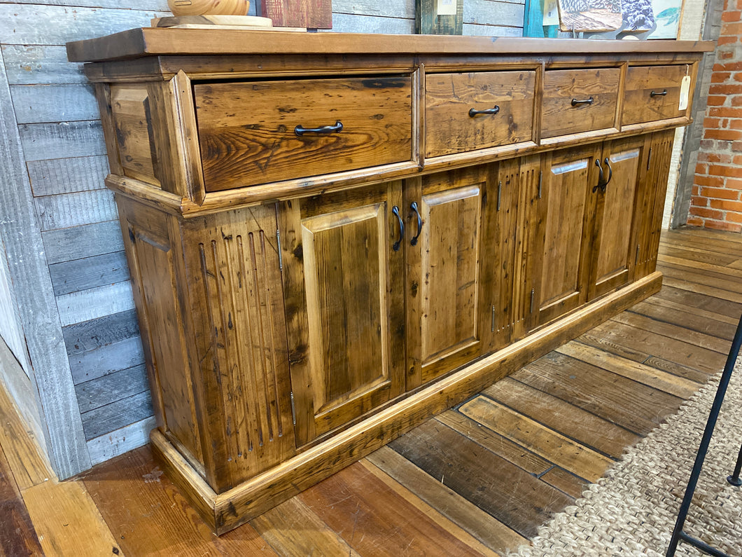 Edwardian Cabinet - Reclaimed Eastern White Pine