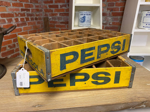 Antique Pepsi Cola Crate