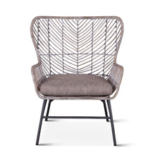 Load image into Gallery viewer, Kubu Accent Chair Gray Whitewash