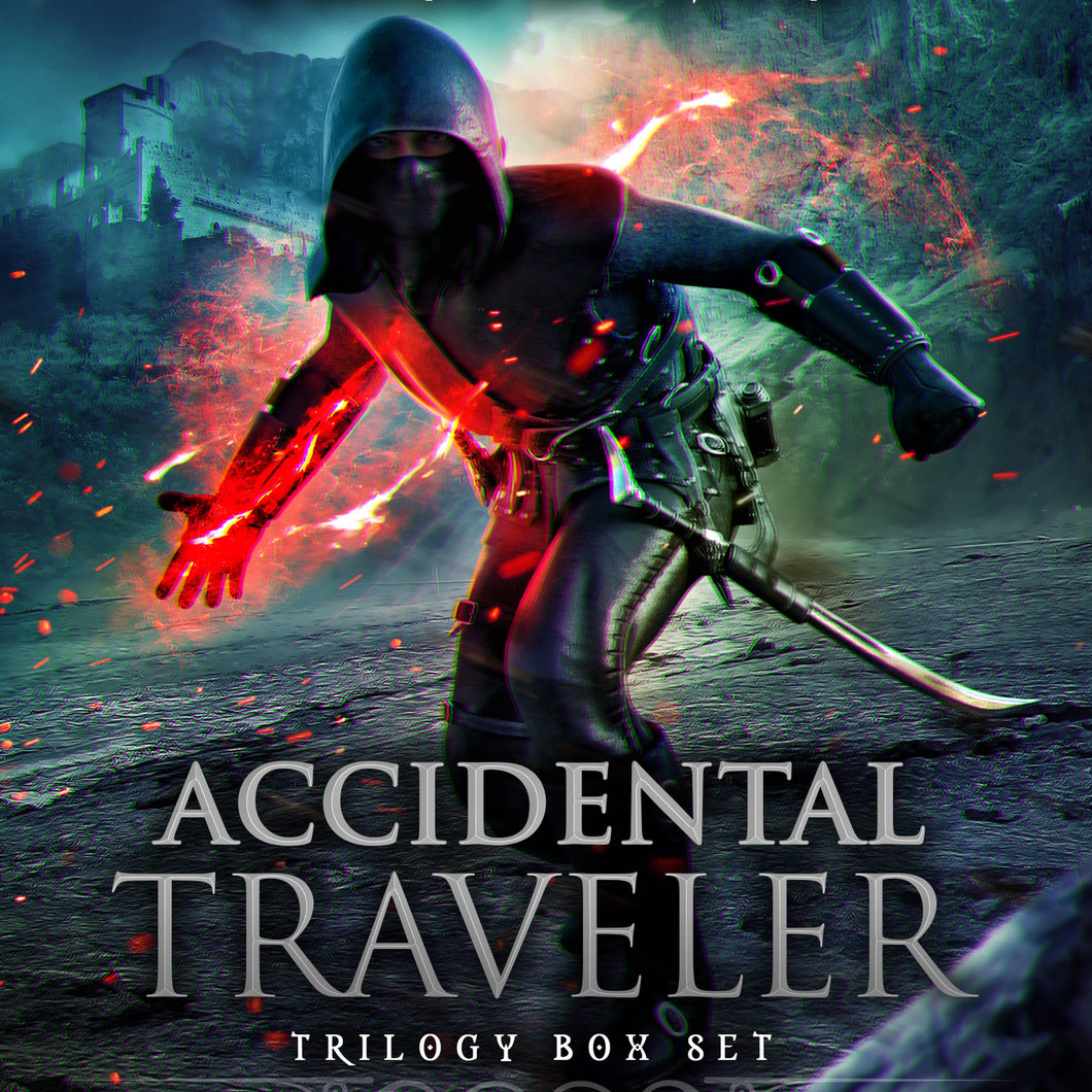 Accidental Traveler Box Set Volumes 1-3: A LitRPG Epic Fantasy Adventure