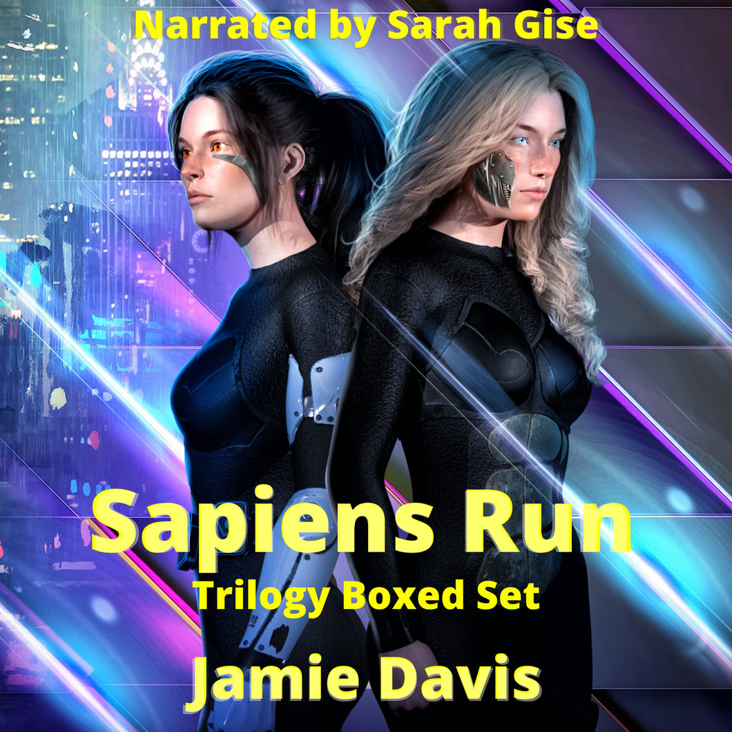 Sapiens Run Trilogy Boxed Set: A Dystopian Cyber Thriller Series