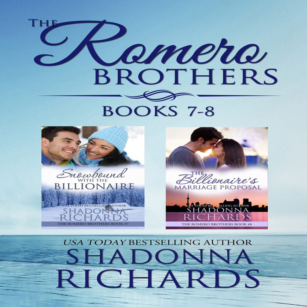 Romero Brothers Boxed Set, The - Books 7-8
