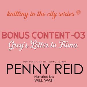 Knitting in the City Bonus Content 03: Greg's Letter to Fiona