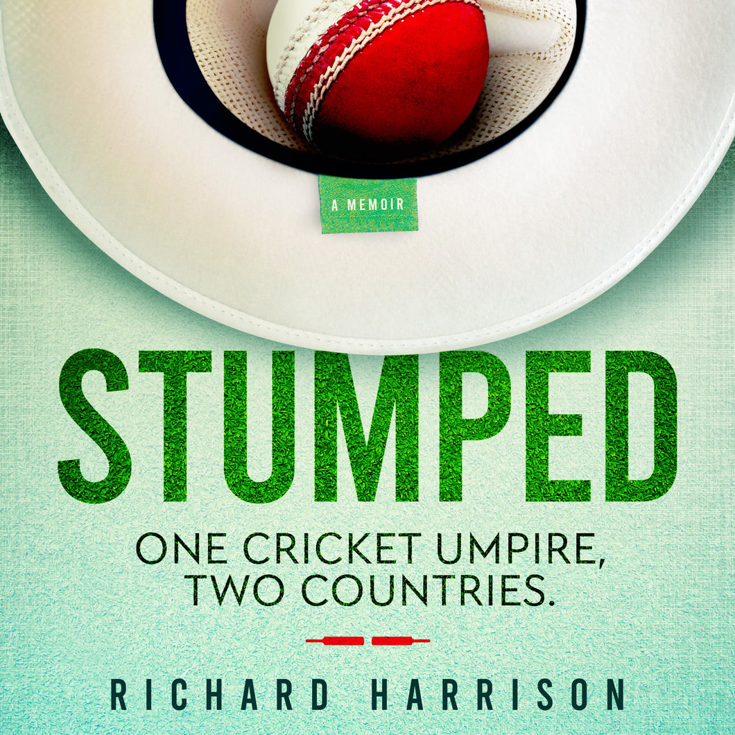 Stumped: One cricket umpire, two countries.
