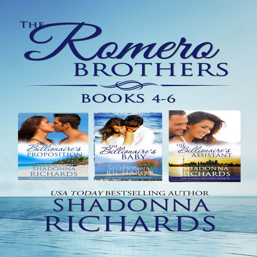 The Romero Brothers Boxed Set Books 4-6