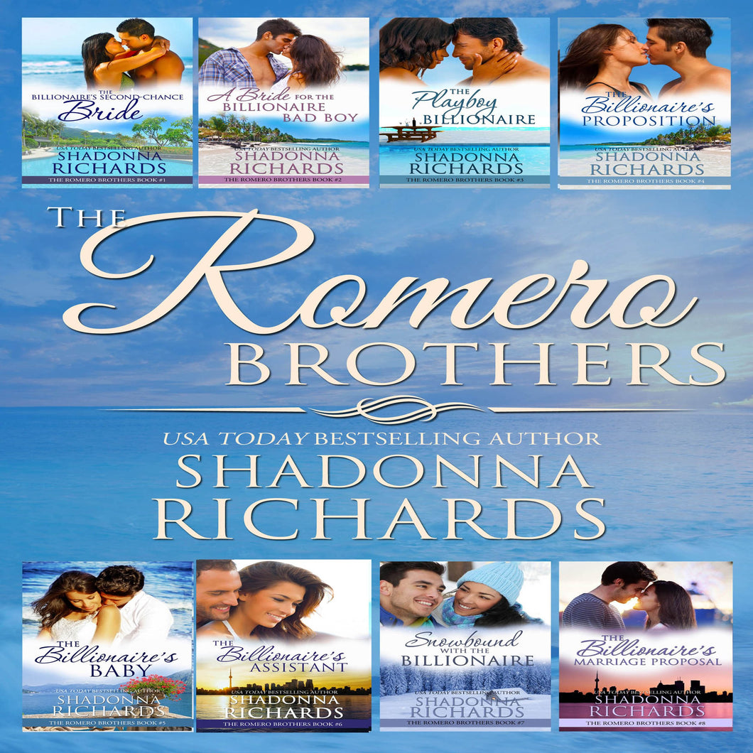 The Romero Brothers Complete Series Books 1-8