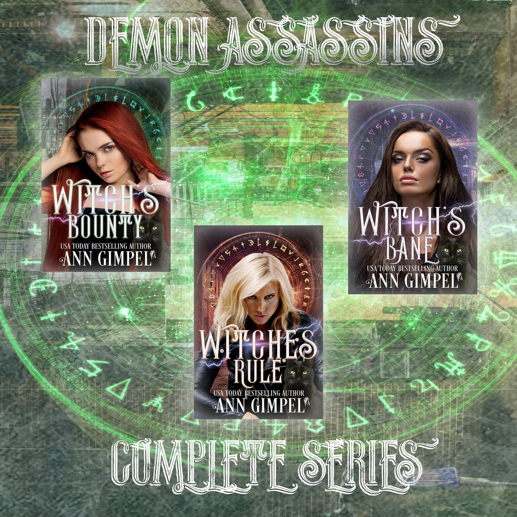 Demon Assassins (3-Book Series): Urban Fantasy Romance