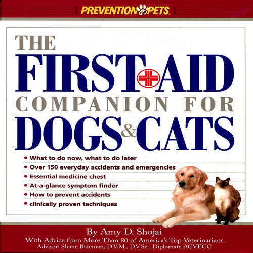 The First-Aid Companion for Dogs and Cats (Prevention Pets)