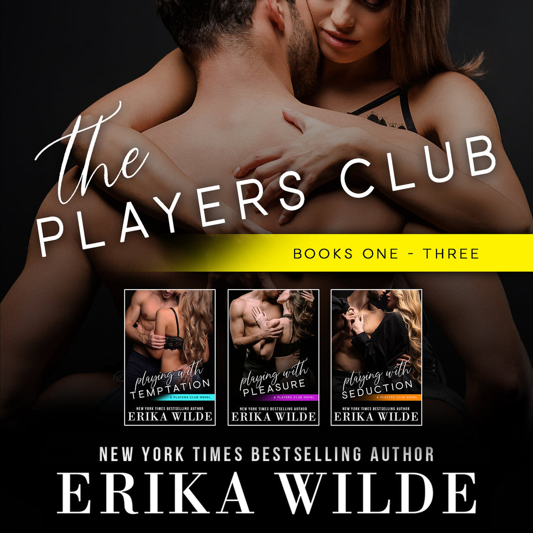 The Players Club Series (Books #1-#3)