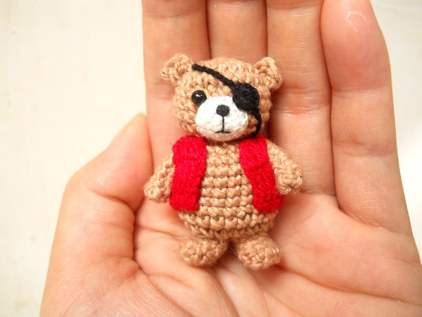 Pirate Bear Amigurumi