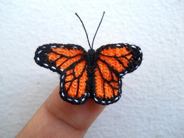 Miniature Monarch butterfly