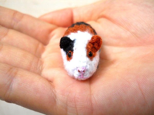 Mini Crocheted Guinea Pig