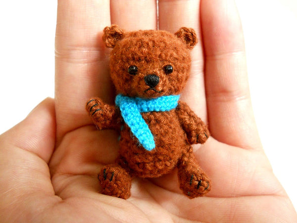 Mini Crocheted Bear
