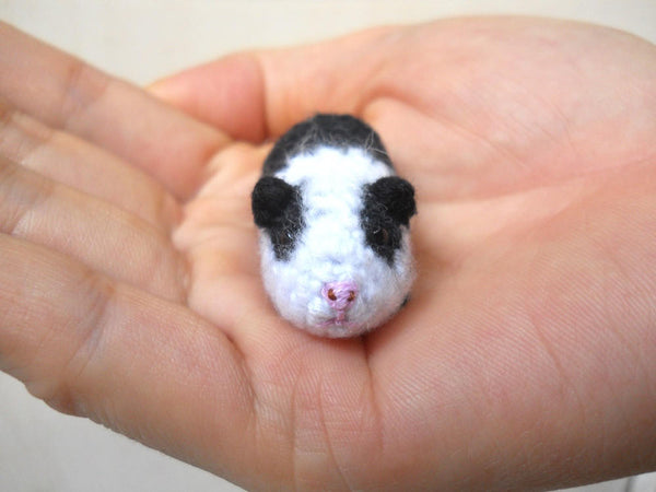 Tiny Crocheted Guinea Pig