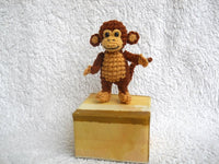 Mini Crocheted Monkey 2 inches