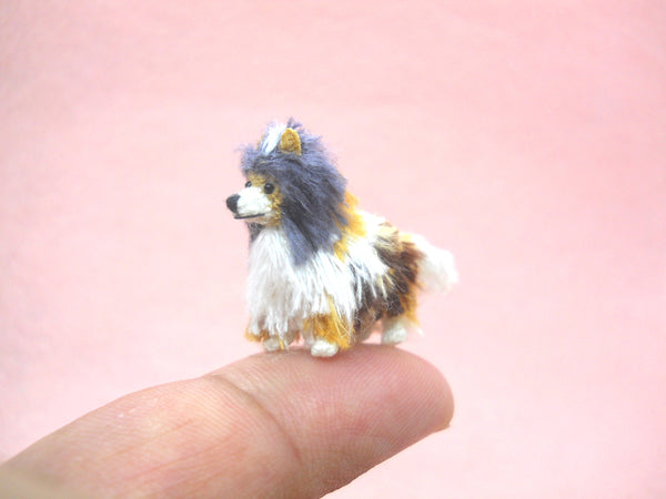 Miniature Crochet Sheltie