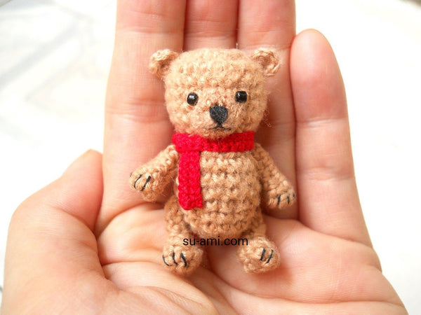 Mini Brown Bear 2 Inches