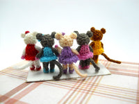 Mini Ballerina Mouse 0.8 Inch
