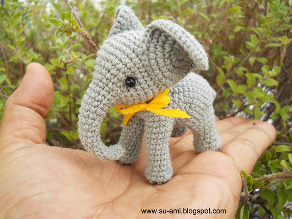Crochet Elephant Stuff Animal