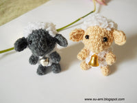 Tiny Creme Sheep