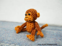 Lovely Brown Monkey