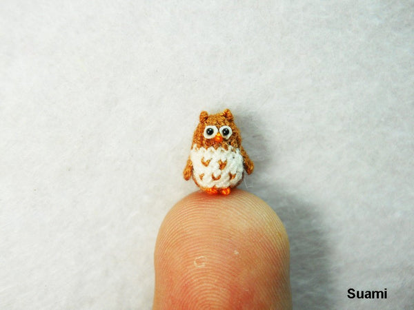 Micro Mini Brown Owl