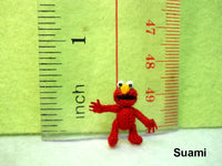Extreme Micro Elmo Character Red Monster Doll