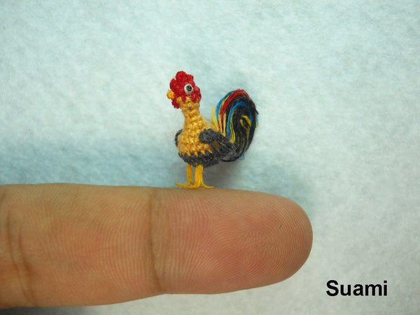 Miniature Yellow Rooster