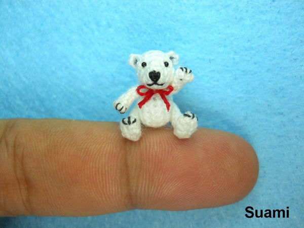 Micro Polar Bear Stuff Animal