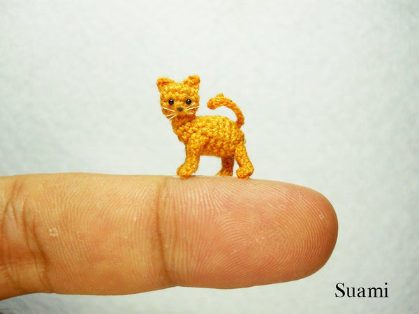 Tiny Crochet Kitty Cat