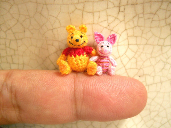 Pooh Bear and Pink Piglet