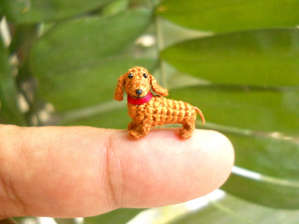 Mini Dachshund Stuff Animal