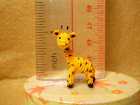 Mini Miniature Crochet Giraffe