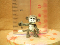Tiny Crochet Monkey