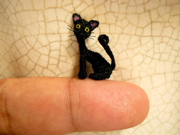 Lovely Black Cat 0.8 inch