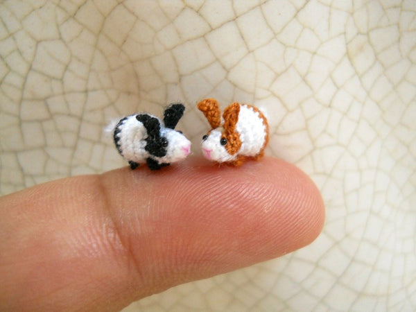Miniature Bunny Rabbit Amigurumi