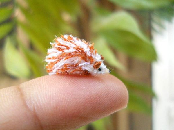 Mini Hedgehog Amigurumi