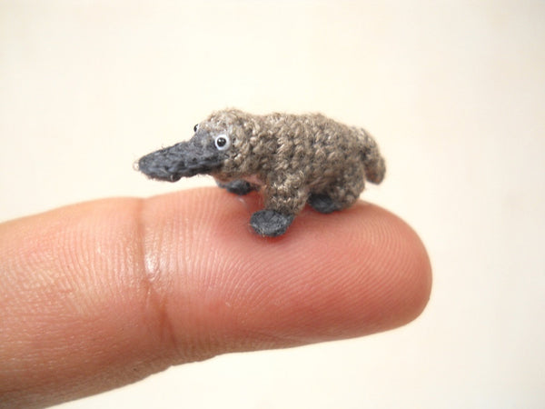 Miniature Grey Platypus