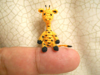 Tiny Walking Giraffe