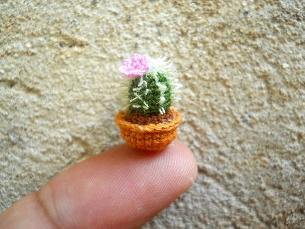 Amigurumi crochet kit - cactus figue de barbarie - Un grand marché | 450x600